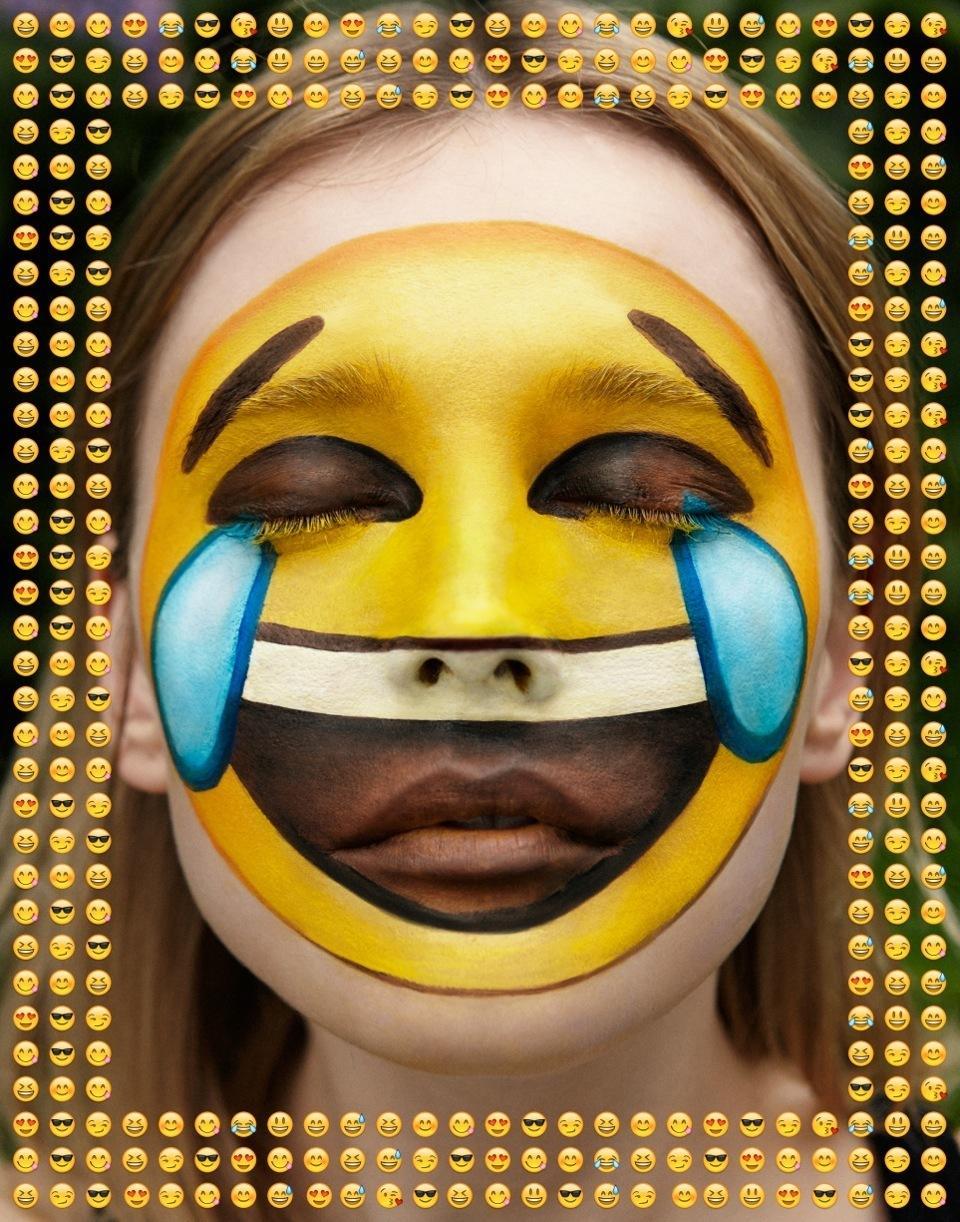 An Emoji Make Up Tutorial With Isamaya Ffrench Read I D