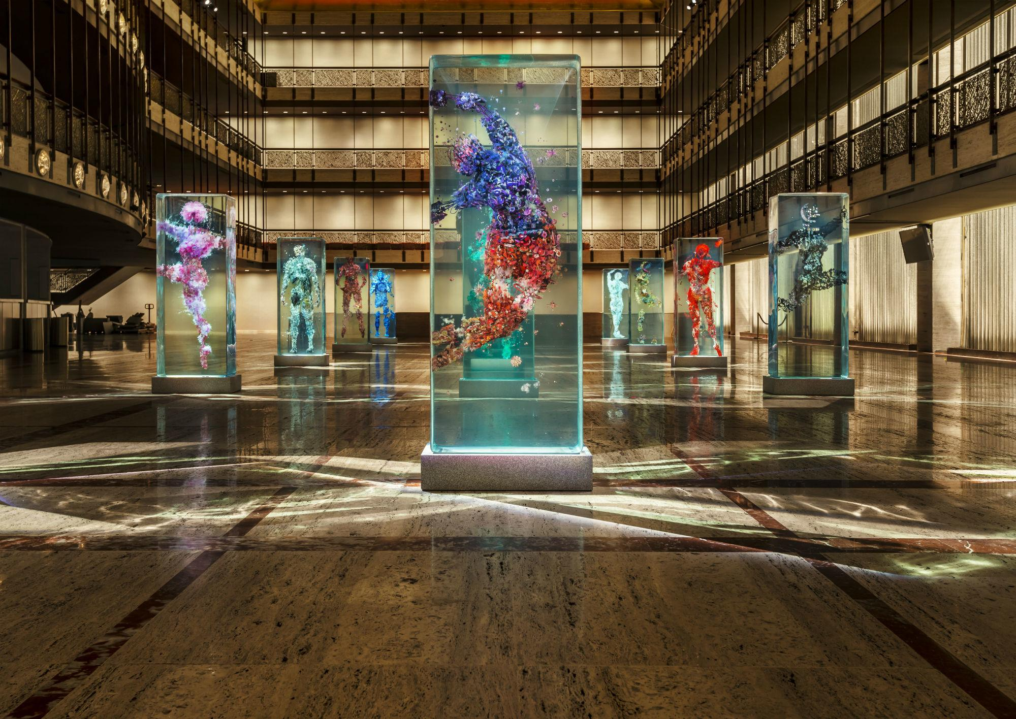 D Dancer Glass New York City Ballet