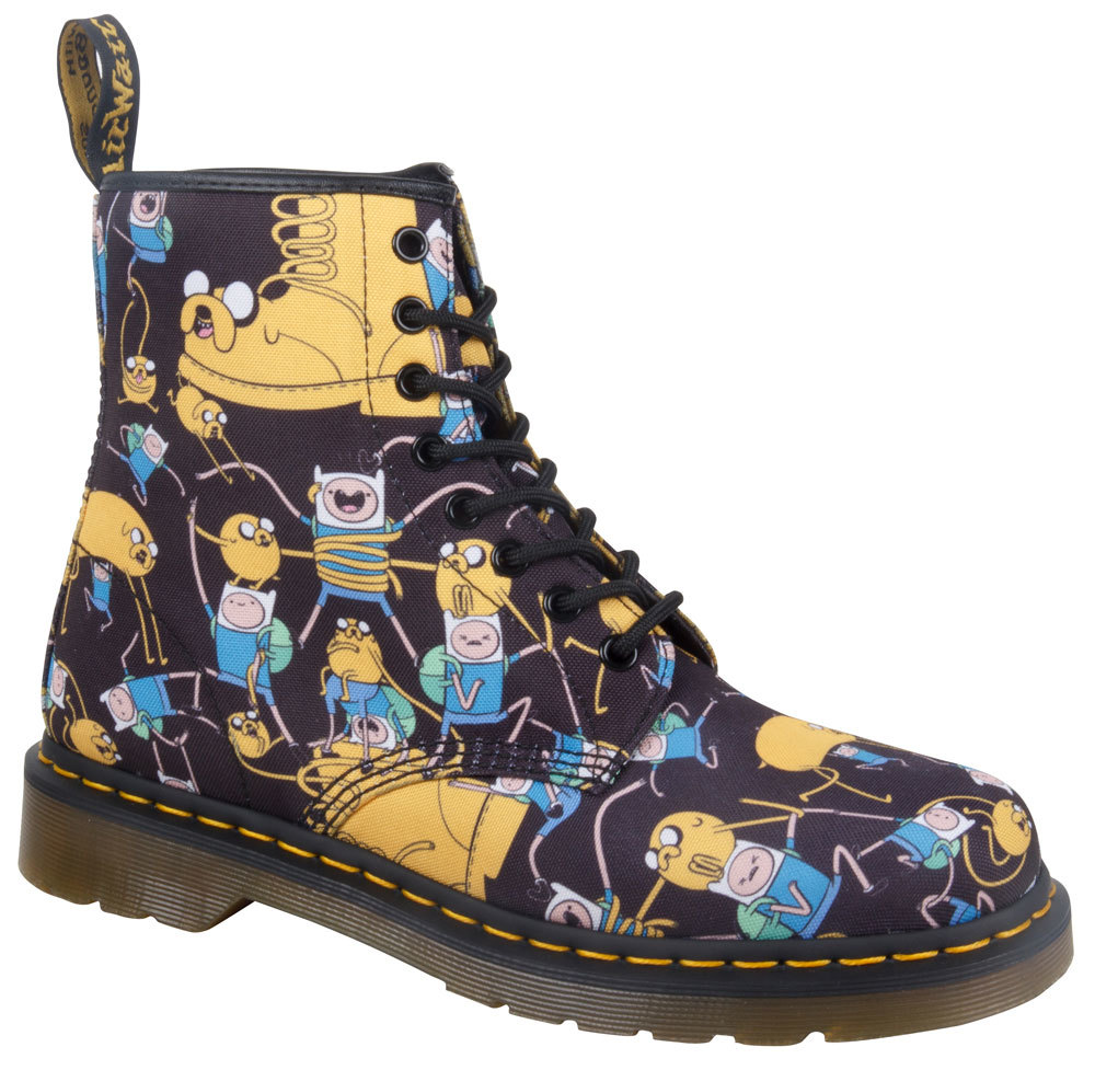 d4b3b41b38bb1c dr. martens team up with cartoon network on adventure time boots - i-D