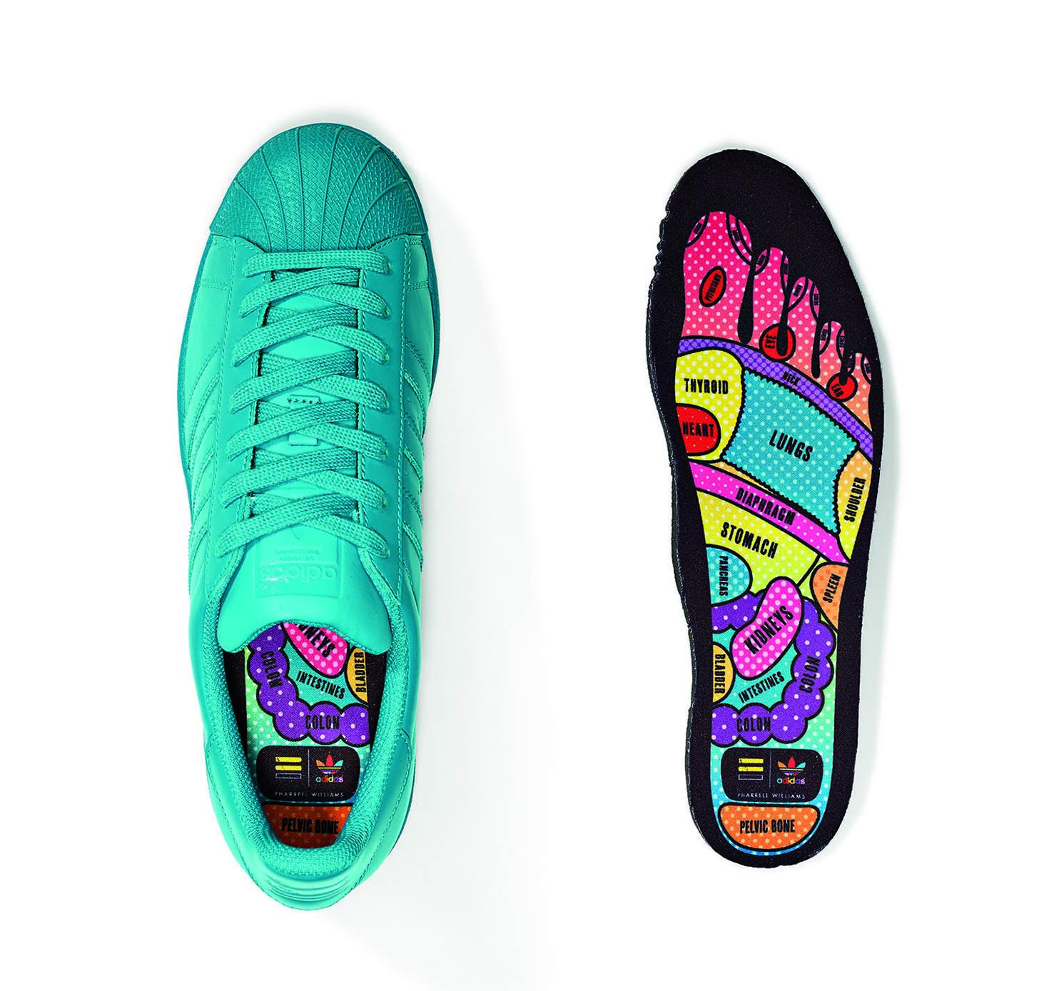 scarpe adidas superstar arcobaleno