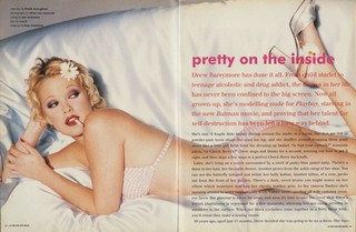 Drew Barrymore - The Pin-Up Issue, No. 138, March 1995 i-D magazine
