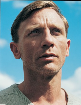 Daniel Craig in i-D magazine in 2004 before he was James Bond