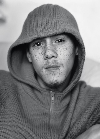 The History of Grime: Fumin in a woollen hoody