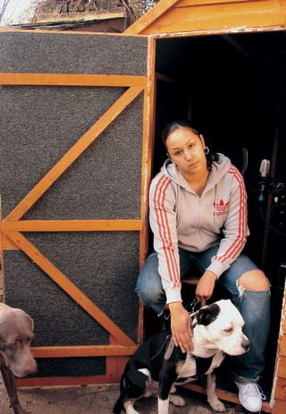 The History of Grime: Lady Fury with her dog