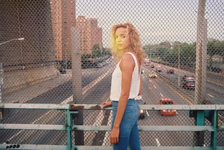 Phoebe Collings James for Levi's denim, photographed by Petra Collins