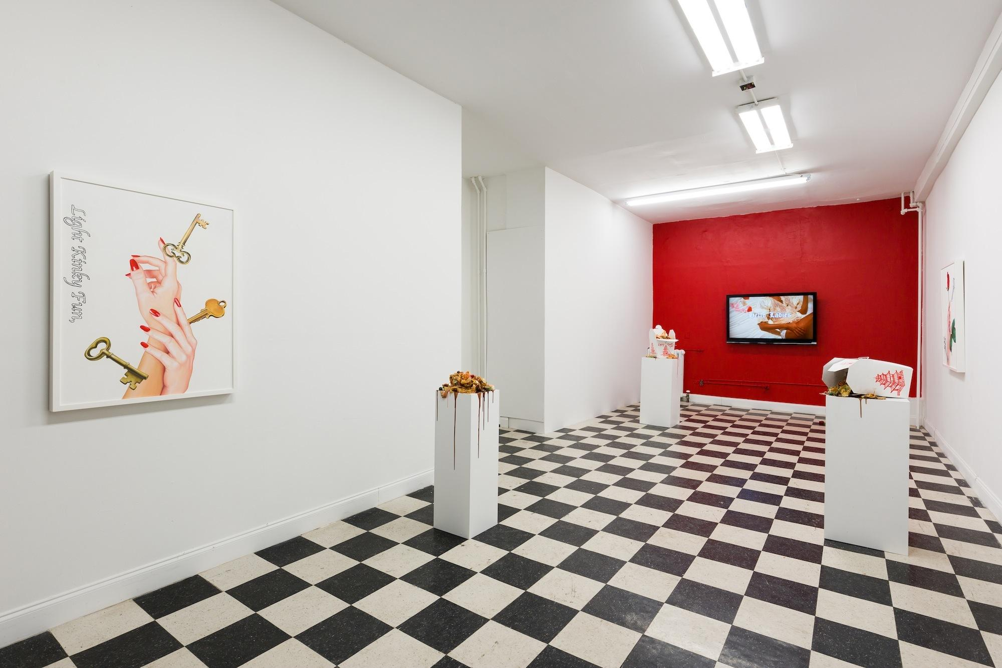 Cheating And Chow Mein At Chloe Wises New Show  Read  I-D-9407