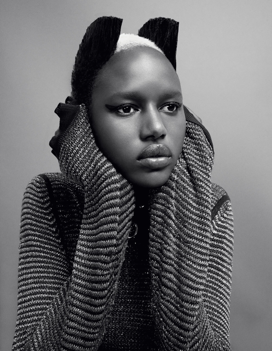 The empowering history of shaved heads in fashion i d ajak deng photography emma summerton fashion director edward enninful from i d the livin loud issue no 311 spring 2011 buycottarizona Image collections