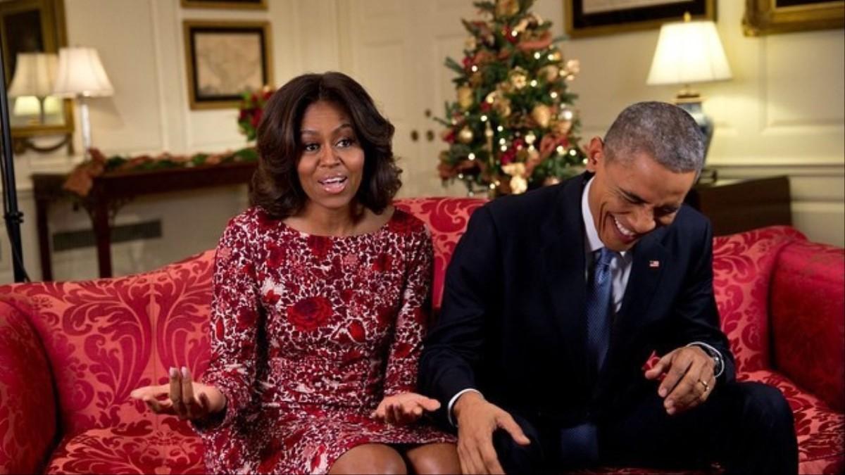 los obama publican una playlist navideña en spotify - i-D