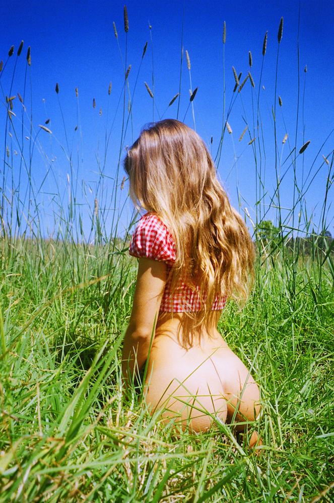 Секс на траву