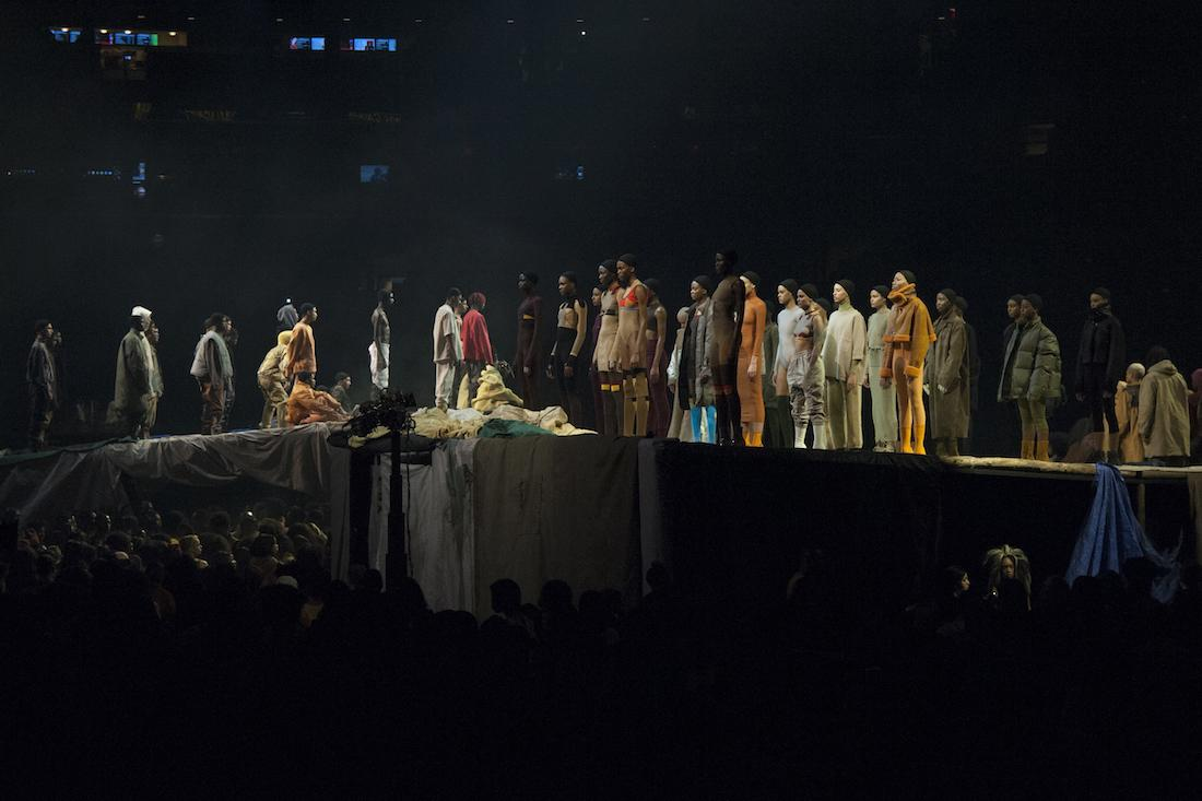 Kanye West Spreads His Gospel At Madison Square Garden