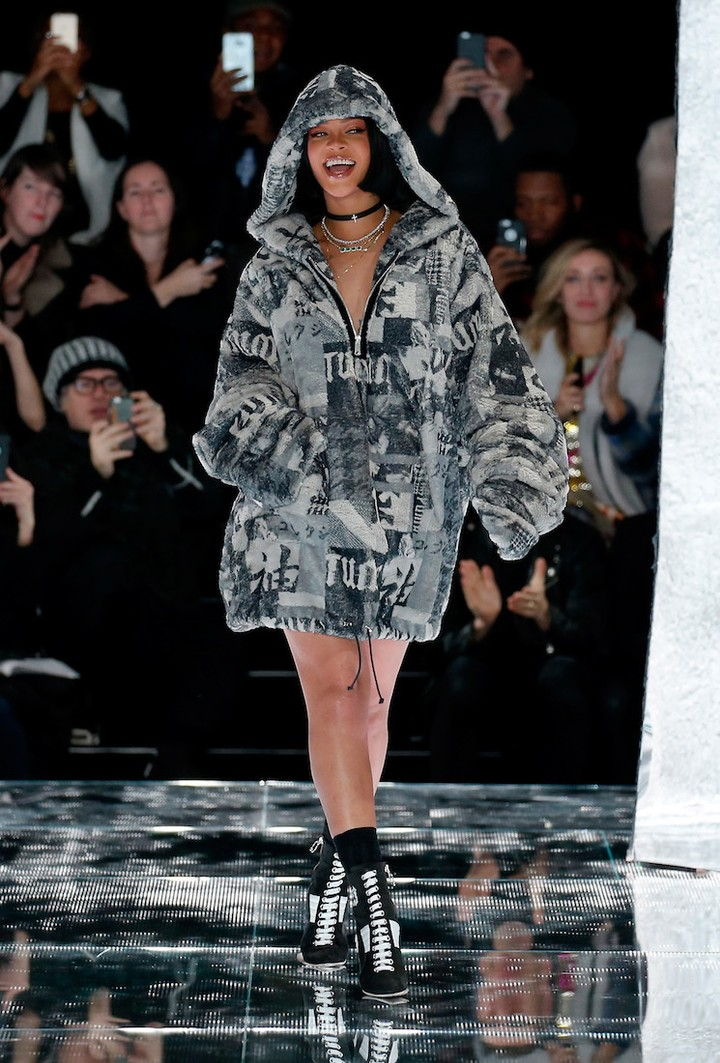 rihanna's new puma collection, phresh out the runway