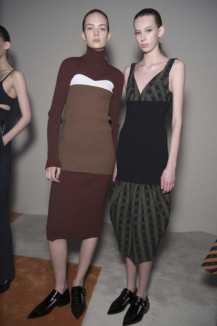 victoria beckham revisited her corset dress collection for fall ...