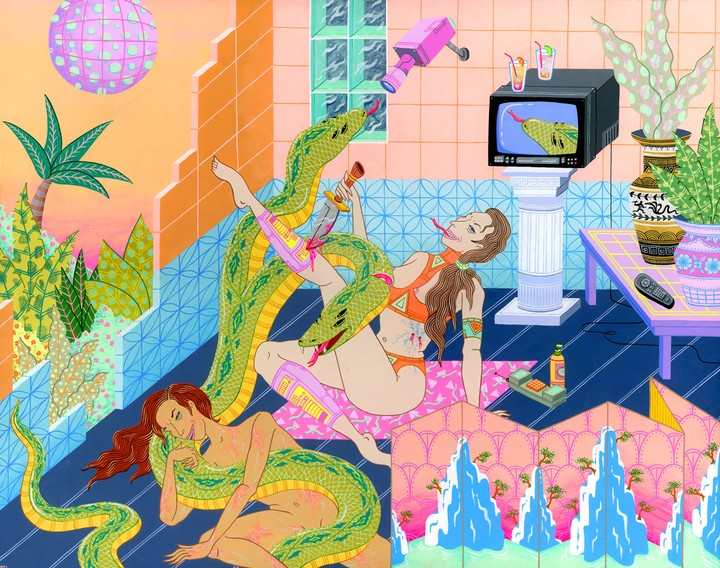 kristen liu-wong's world is erotic, horrific, violent and awesome