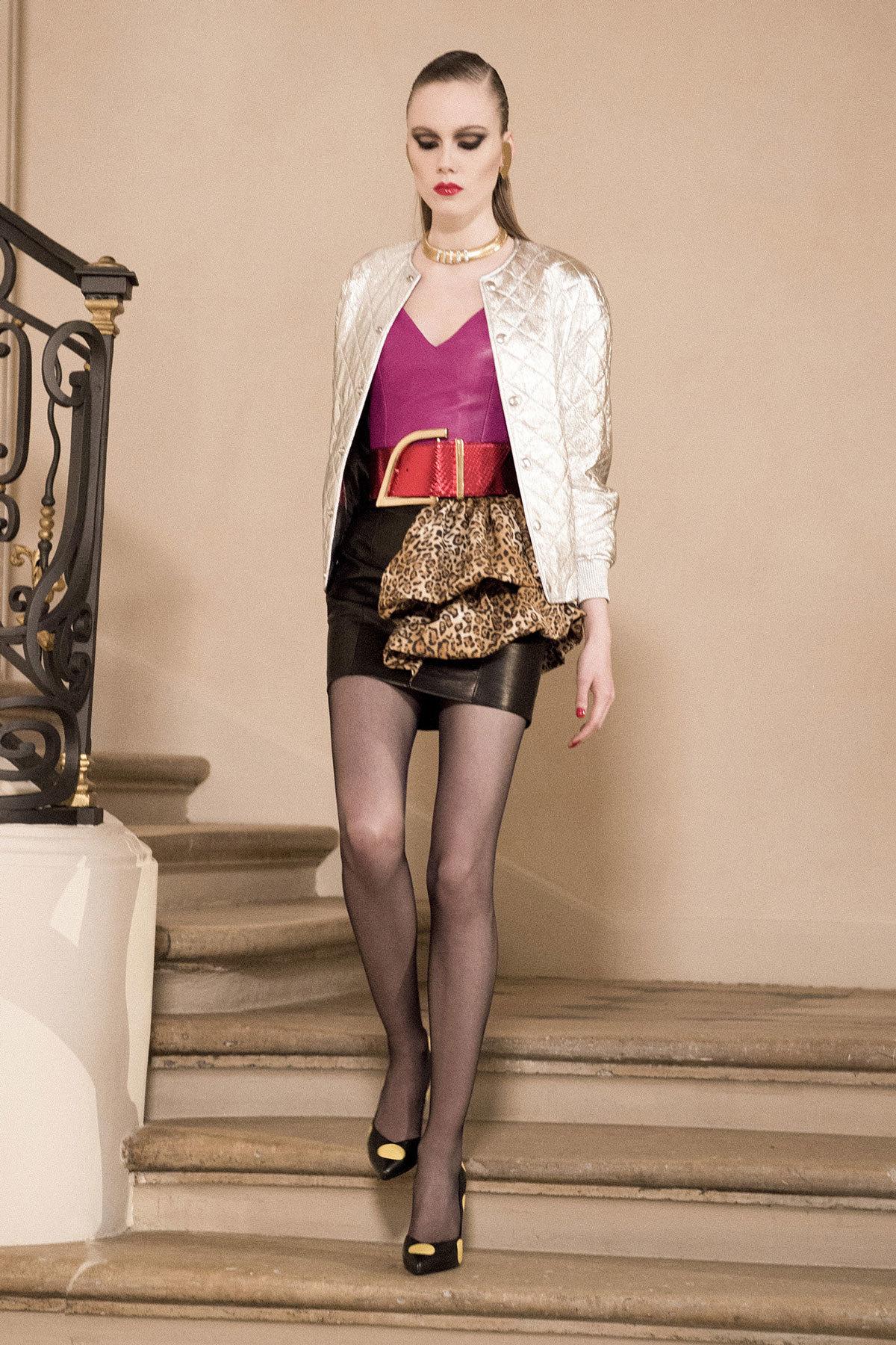 saint laurent's fall/winter 16 couture surprise - i-D