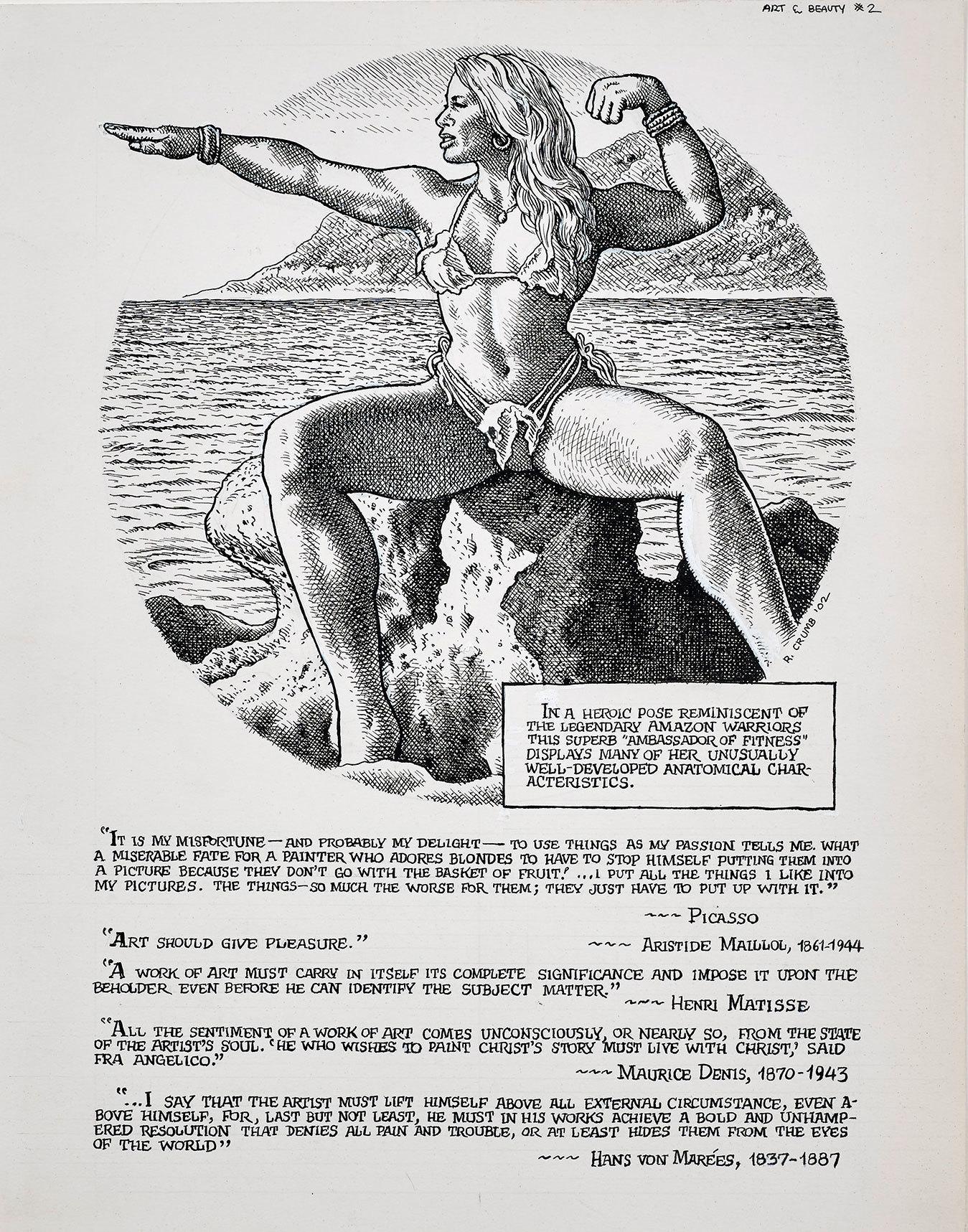 American erotic comics