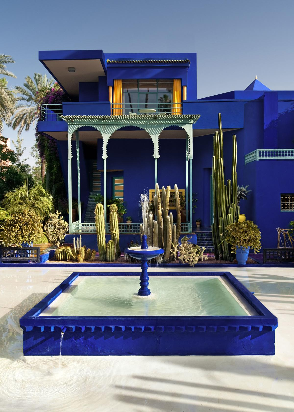 Yves saint laurent museum to open in marrakech read i d for Jardin yves saint laurent