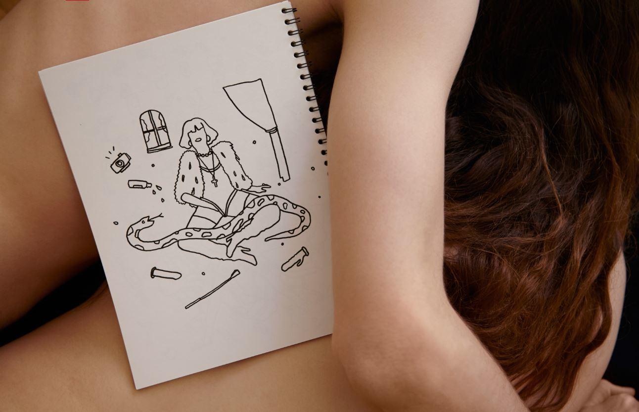 el arte de colorear escenas eróticas para calmar tu mente - i-D