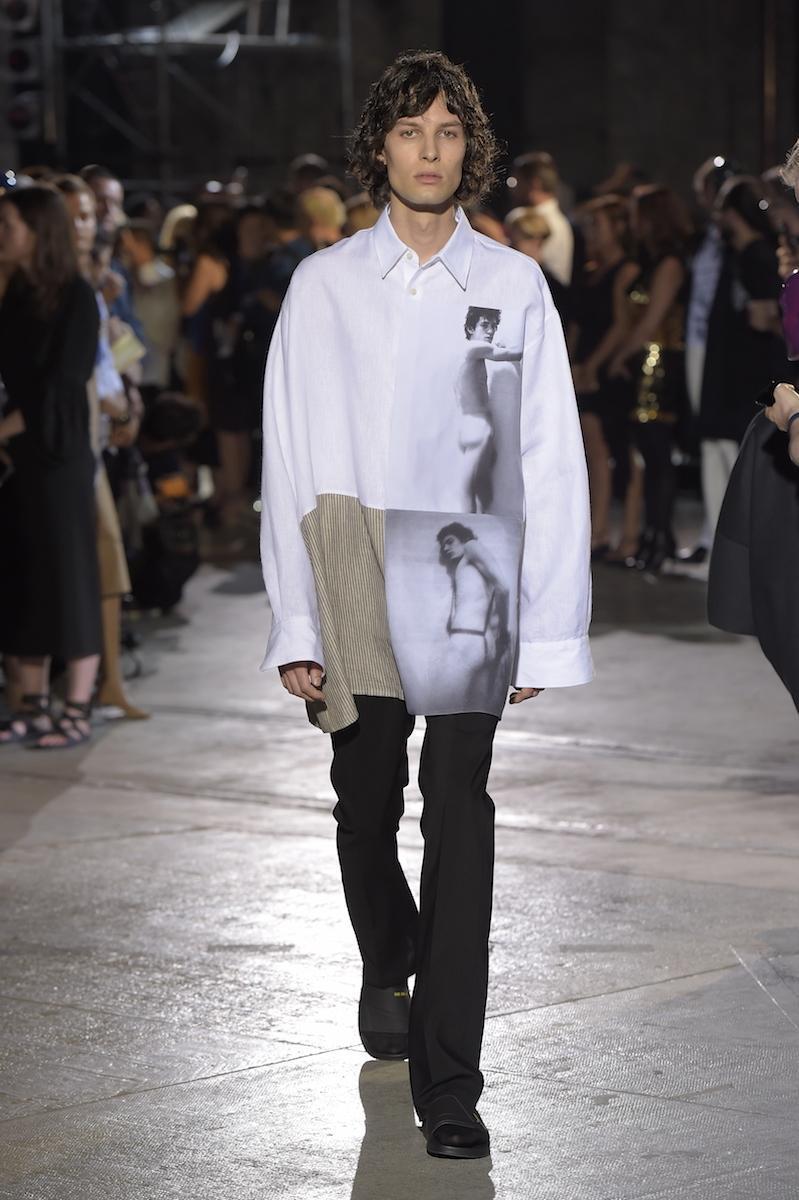 Raf simons and the future of american menswear read i d for Raf simons robert mapplethorpe shirt