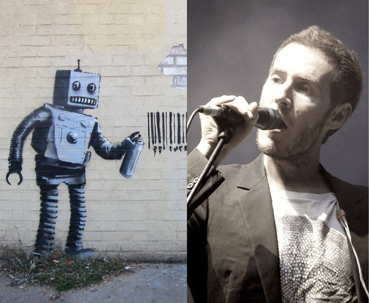 is banksy the singer from massive attack?