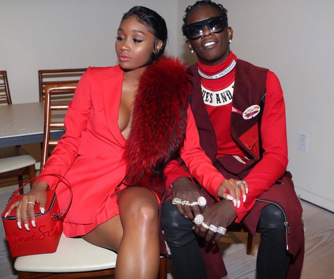 young thug and his bride will wear dresses to their ...