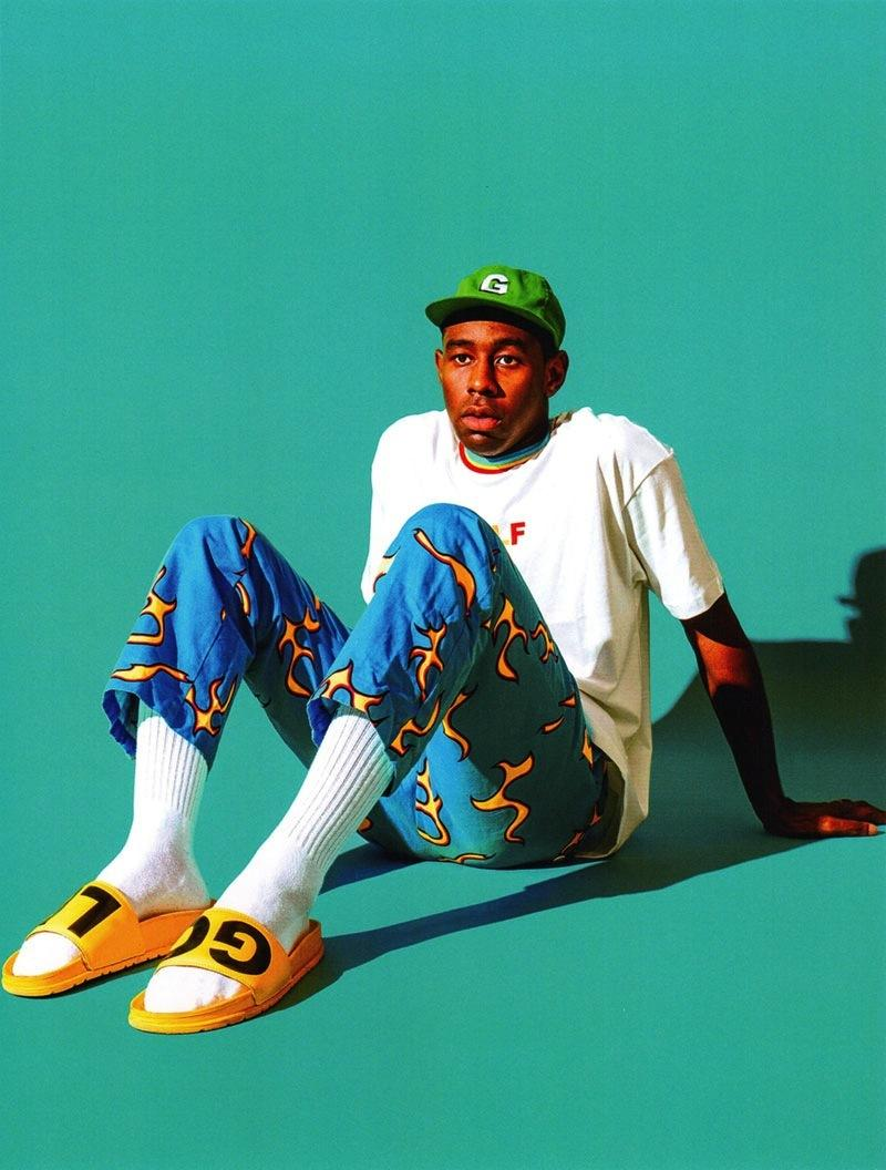 tyler, the creator is rewriting fashion's rulebook in neon ...