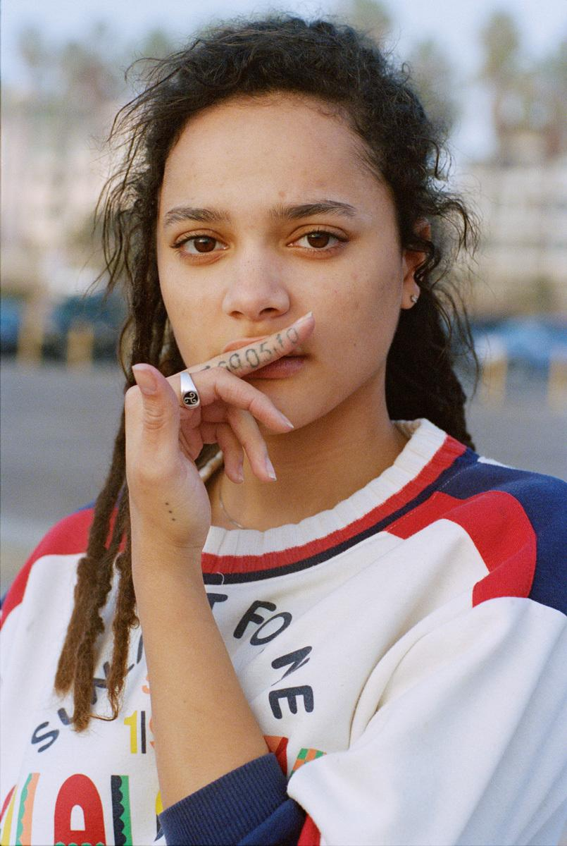 sasha lane is on the cusp of adulthood and fame | read | i-D