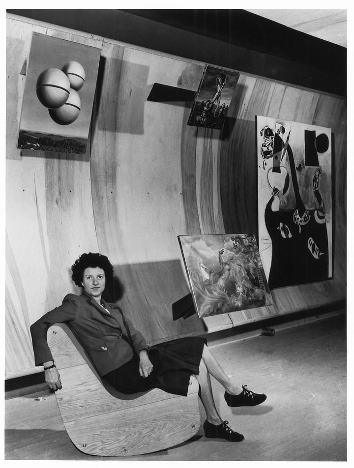 celebrating pioneering art collector peggy guggenheim