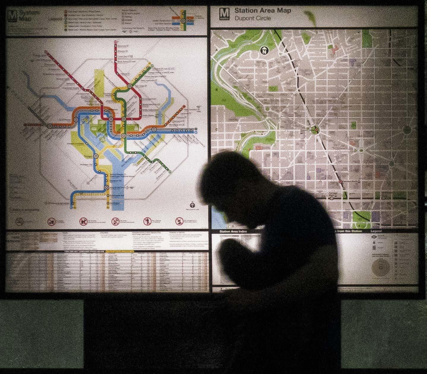 Washington DC Maps Top Tourist Attractions Free Printable