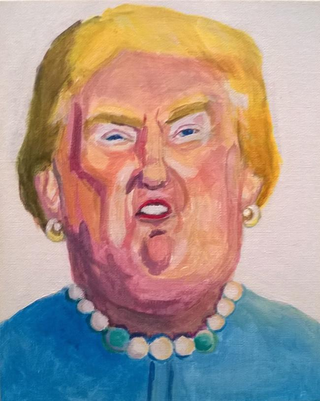 Nasty Women Fight Trump With Protest Art, Tattoos, And Gender Non-Conforming -7207