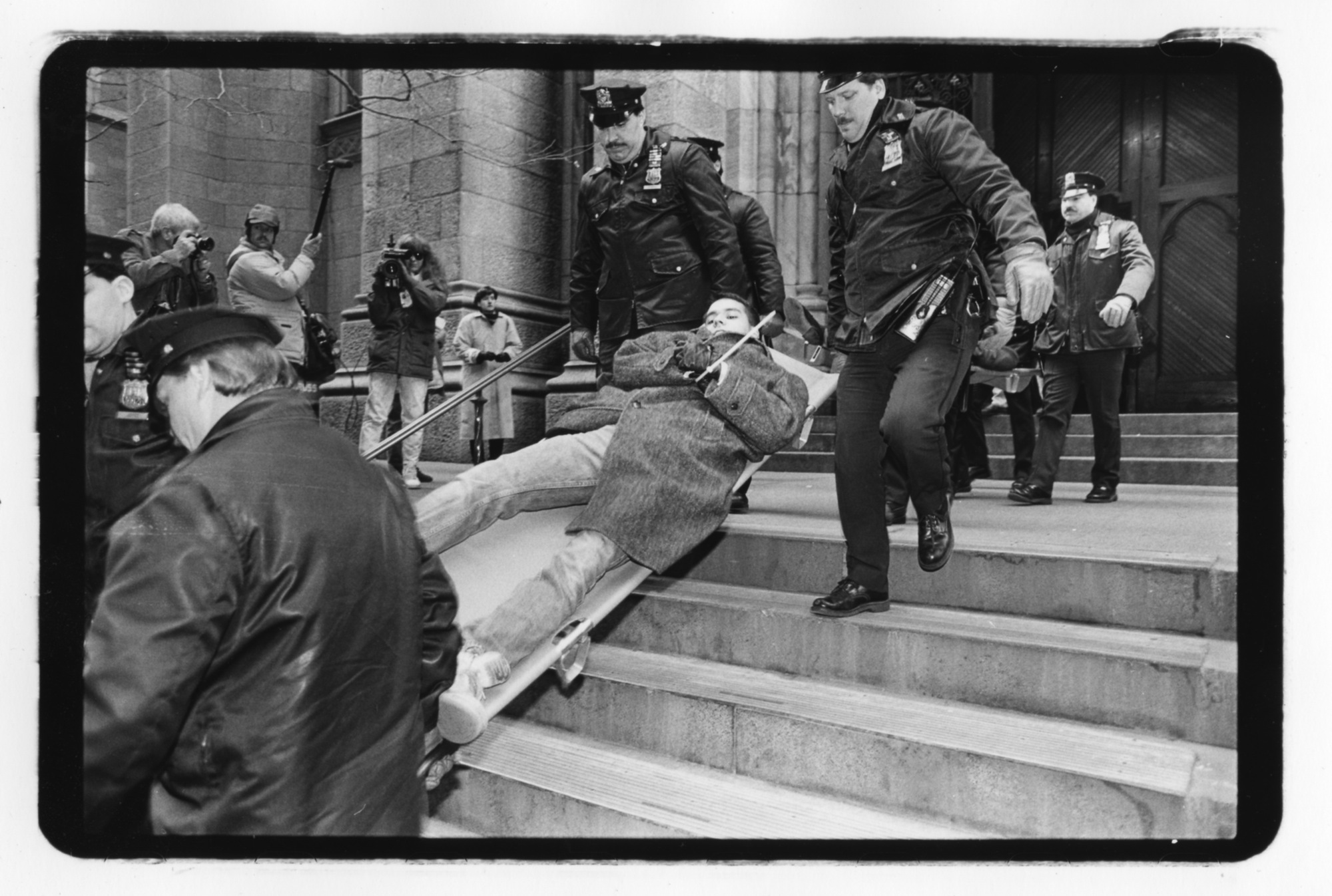 Demonstrations that shook New York in 1980–2000