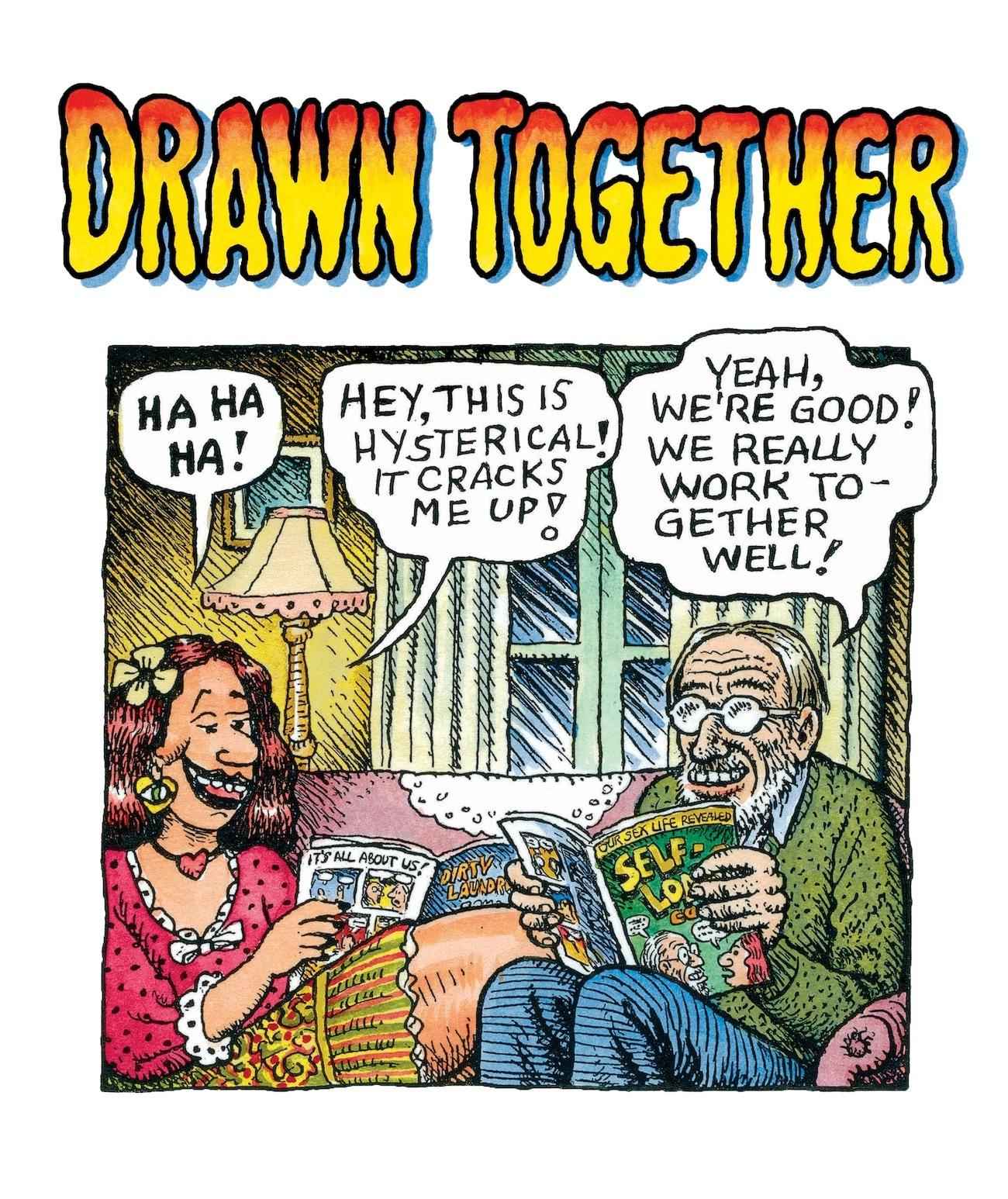 comics legends r. crumb and aline kominsky-crumb on their 40-year ...