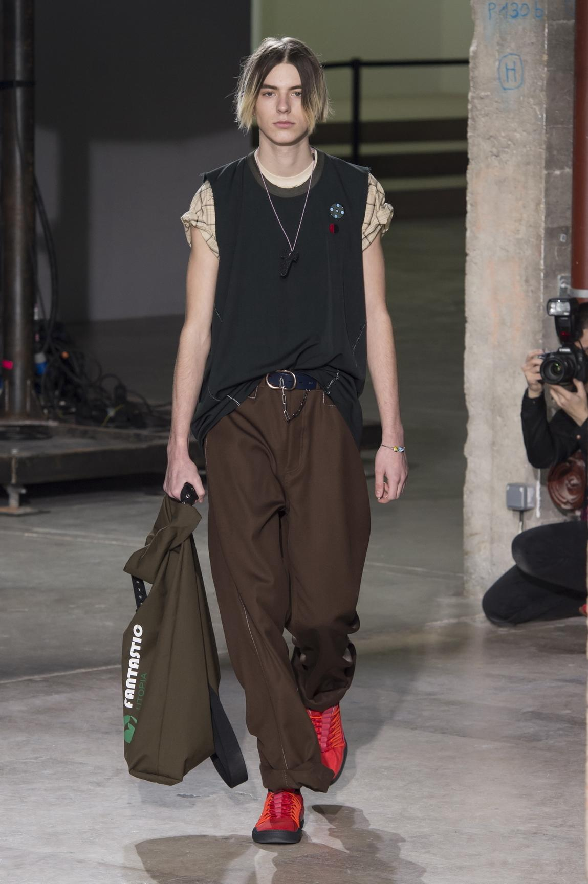 the new face of fashion week day five at paris mens shows the question is how do you elevate that how does it become fashion but out being extremely luxe i wanted it to be a bit humble