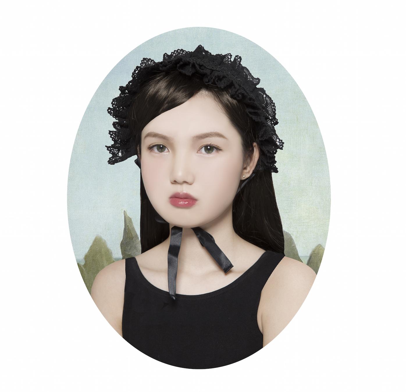 radicale renaissanceportretten van aziatische vrouwen i d