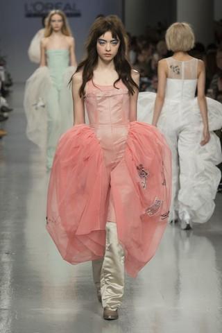 Central Saint Martins graduate show at London Fashion Week