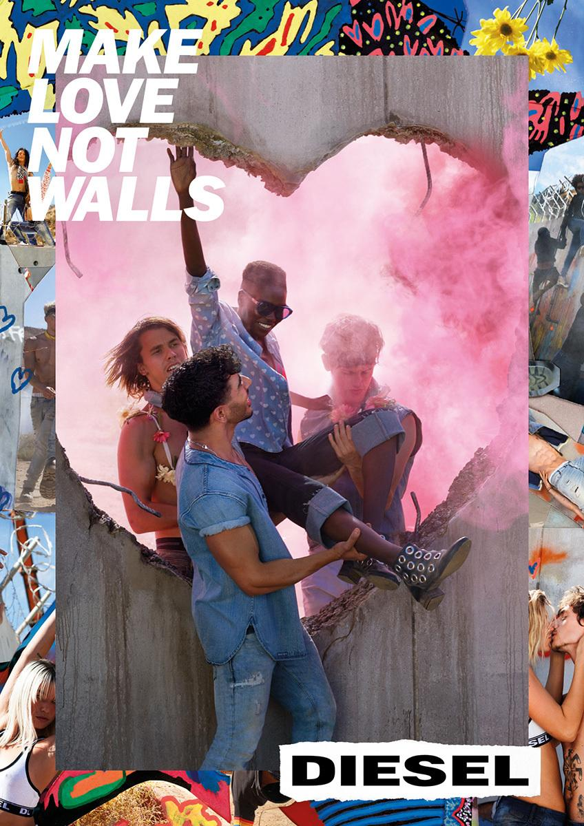 david lachapelle and the positive power of advertising i d the casting for the new campaign is incredible were you involved in the casting process oh yeah nicola and i were involved in everything