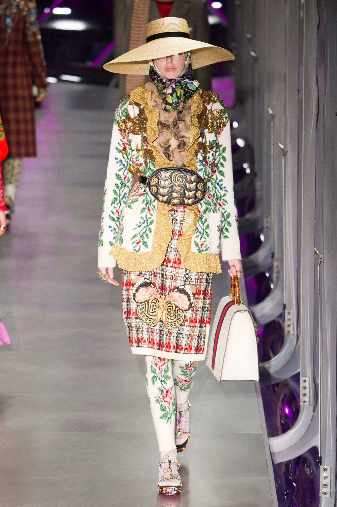 b895fb9d18d gucci opens milan fashion week with a display of modern fashion ...