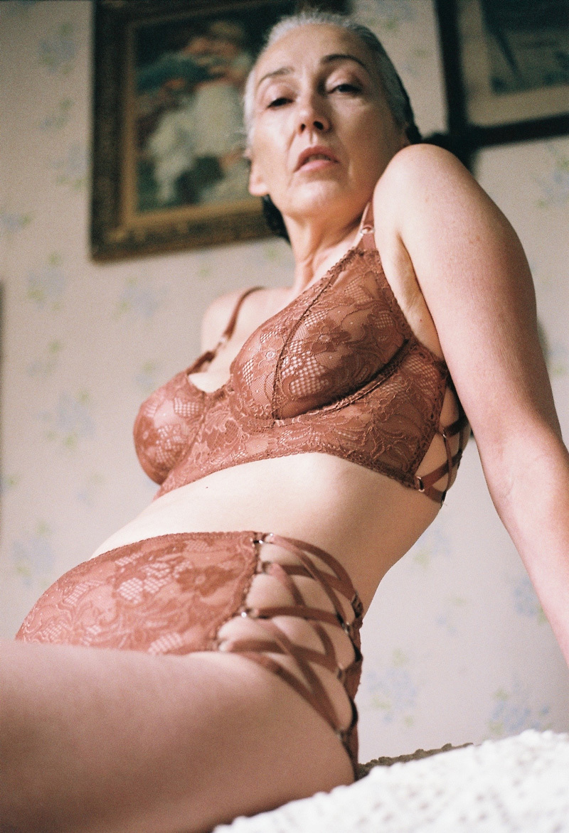 Real hot mature women in lingerie