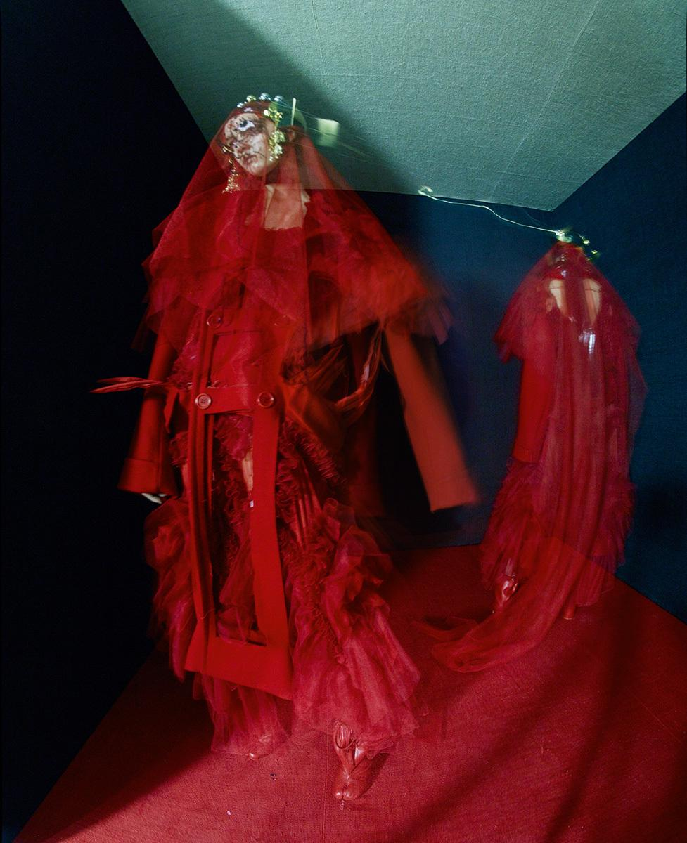 A meeting of minds john galliano tim walker and grace for Galliano margiela