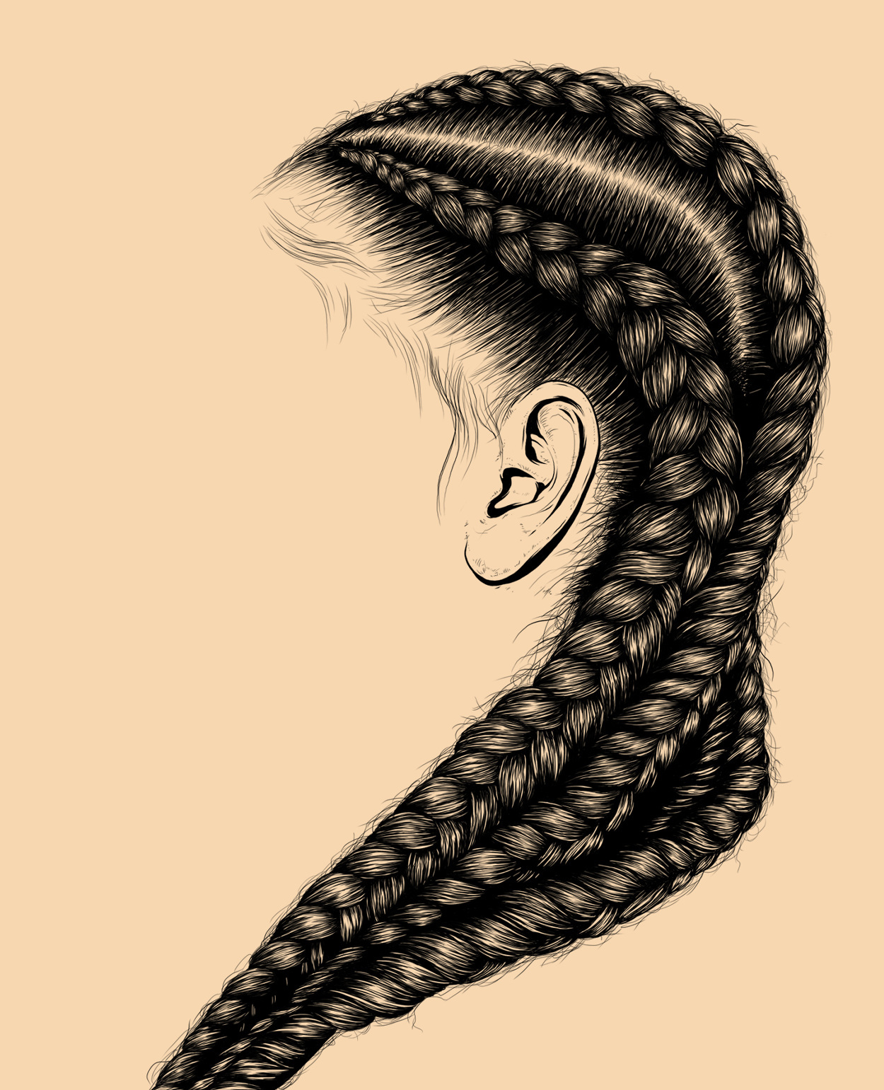 And royalty its typically made from precious materials and is worn by a monarch these are qualities i associate with black women and their hair