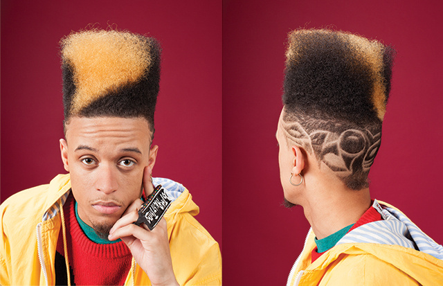 The fierce return of the sculptural political flattop i d credits winobraniefo Image collections