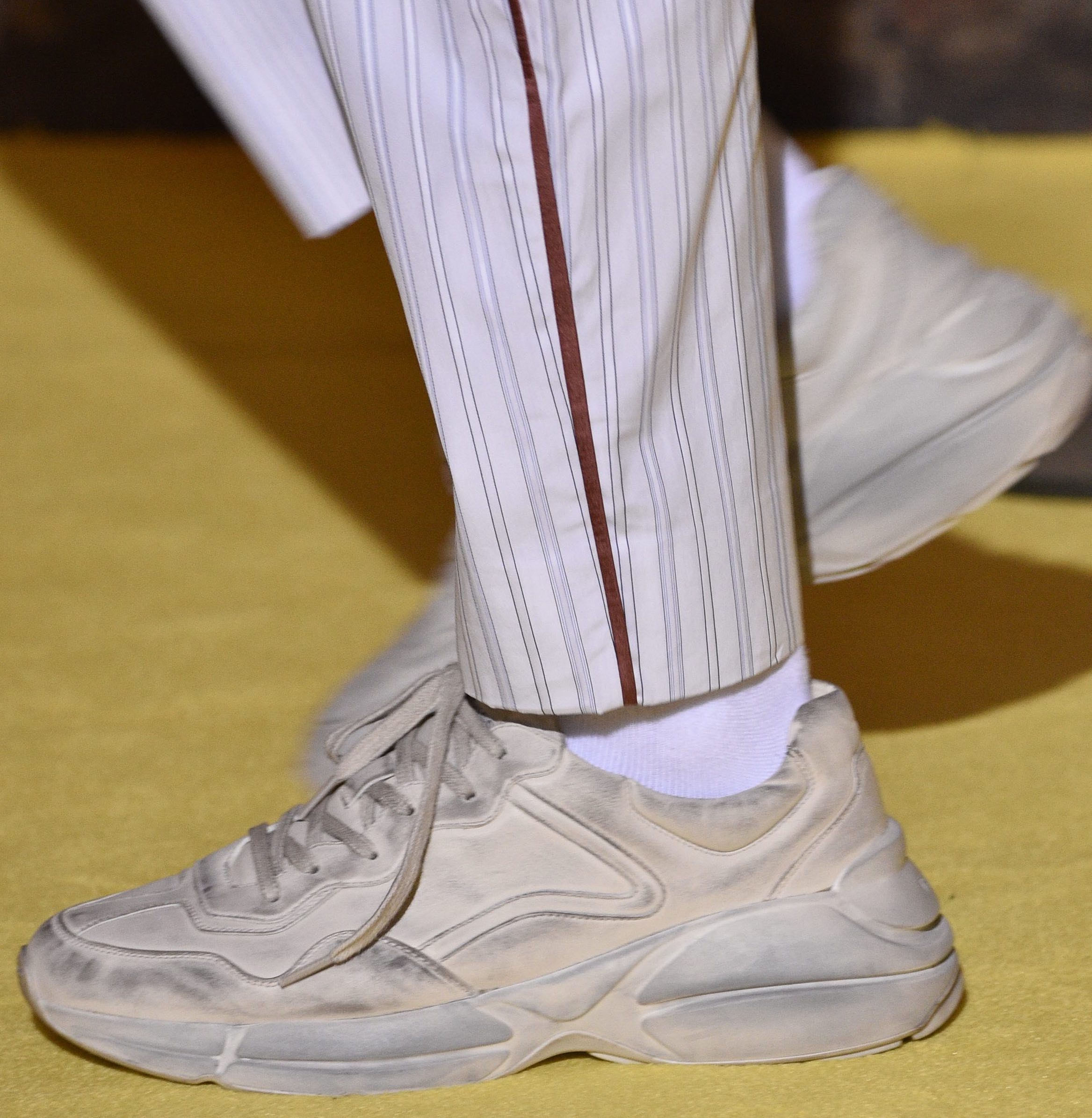 378dcbc7bf why designers are sending dirty sneakers down the runway - i-D