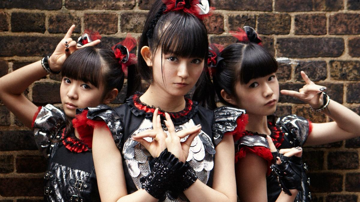 babymetal are bringing kawaii-metal to the world