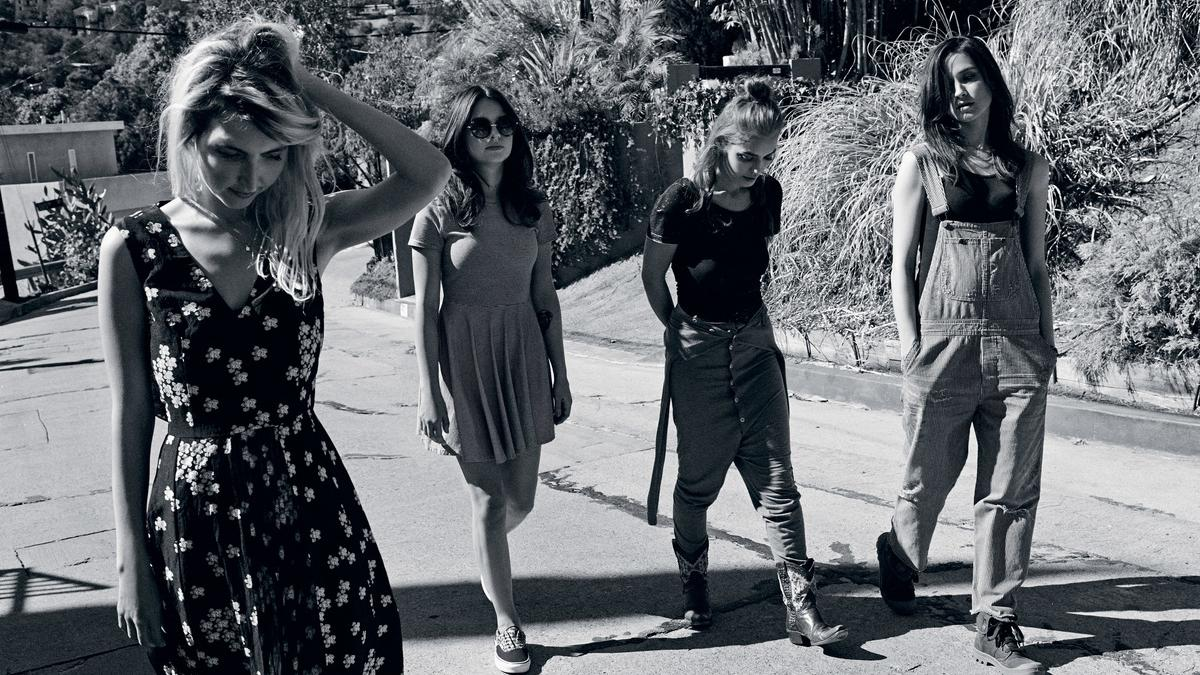 warpaint aren't your average girl band... | read | i-D
