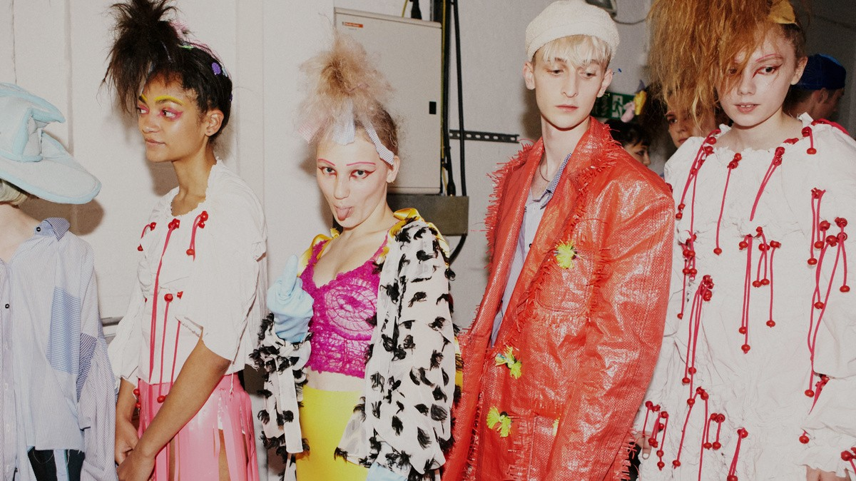 a life affirming and heartbreaking display of emotion at meadham kirchhoff
