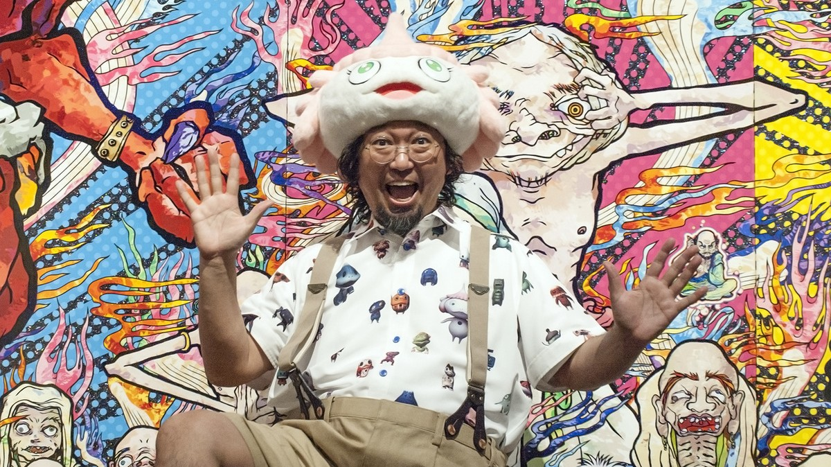 we talk sci-fi, star wars and his new film about a jellyfish with japanese artist takashi murakami