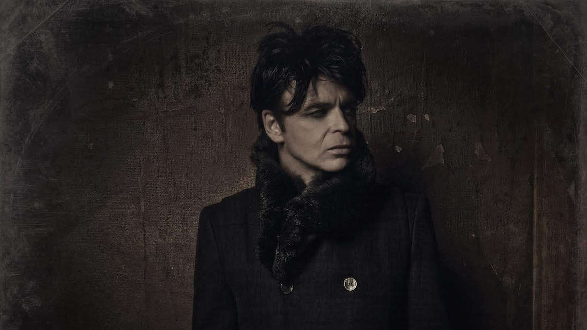 gary numan is the dark prince of synthpop