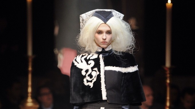 nyfw: thom browne, welcome to the nunnery