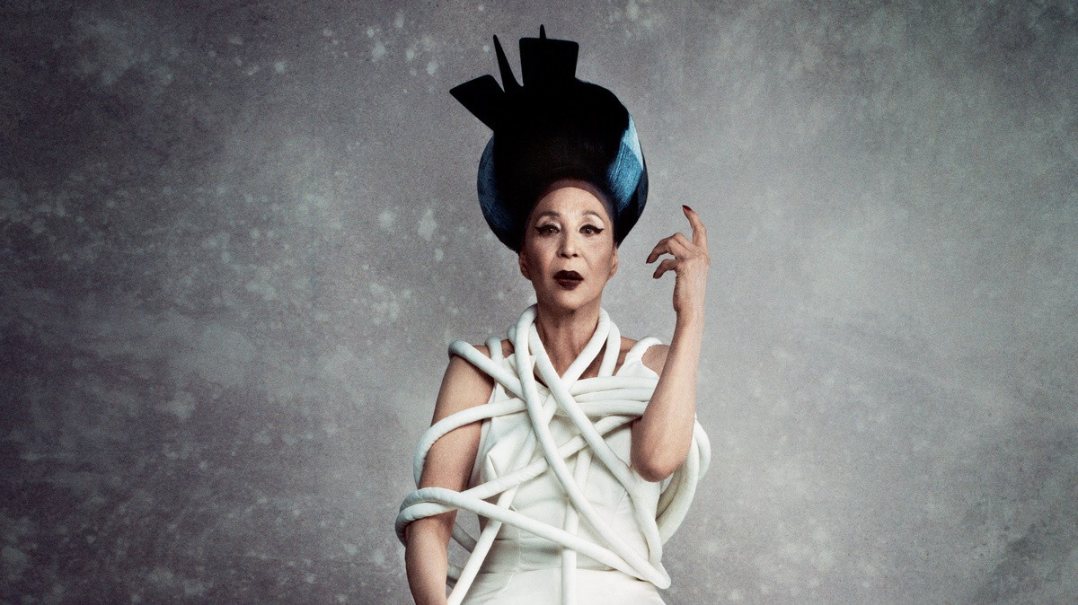 world's first non-caucasian model, china machado, returns to fashion