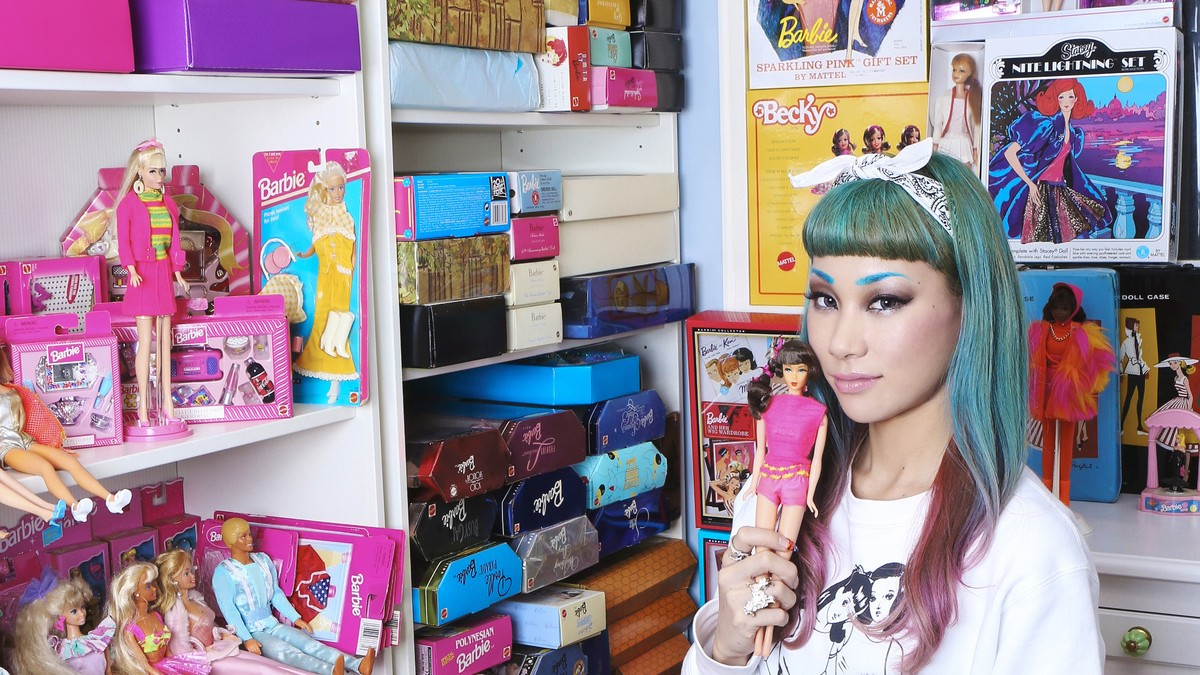 mademoiselle yulia is a modern barbie girl