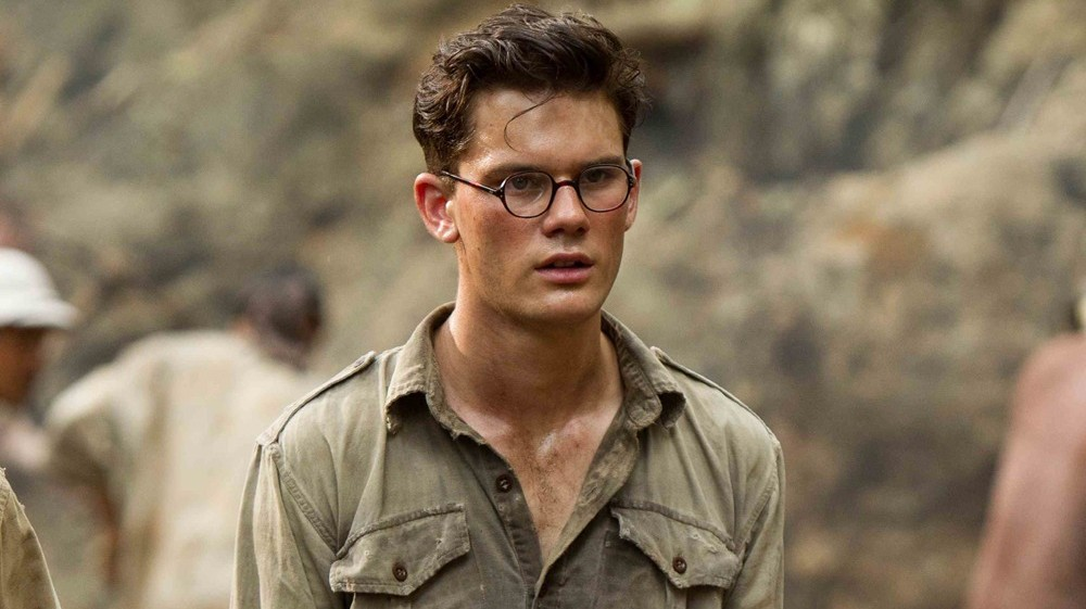jeremy irvine, the railway man